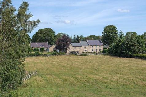 West House & West House Cottage, Whalton, Morpeth, Northumberland. 10 bedroom detached house for sale