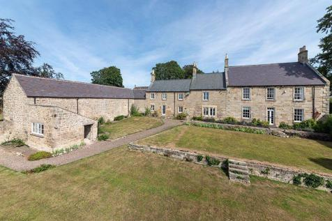 West House, Whalton, Morpeth. 5 bedroom detached house for sale