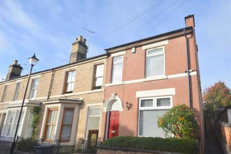 Otter Street, Derby. 3 bedroom end of terrace house for sale