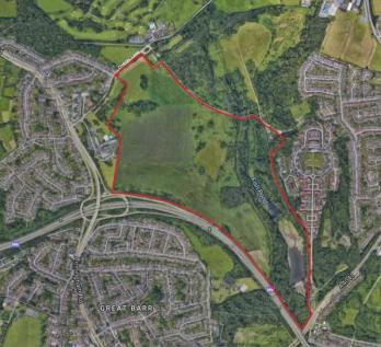 Suttons Drive, Great Barr, B43. Land for sale