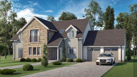 The McBain, Plot 101, Hayfield Brae, Methven, Perth, PH1. 5 bedroom detached house for sale
