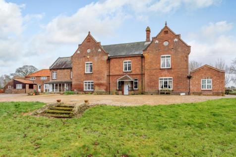 Churchgate Way, Terrington St. Clement, King's Lynn. 7 bedroom detached house for sale