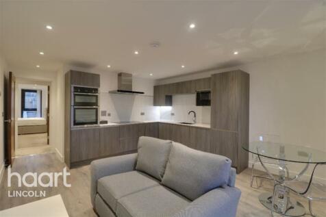 One The Brayford. 2 bedroom flat