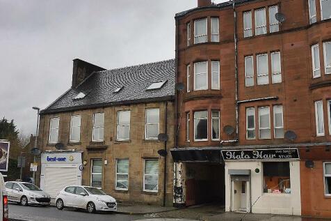 St James Street, Paisley, Renfrewshire, PA3. 2 bedroom flat