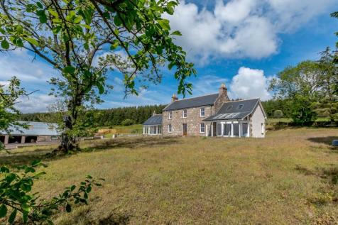 Eslie, Banchory, Aberdeenshire. 4 bedroom detached house for sale