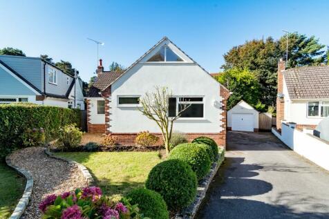 Knole Gardens , Bournemouth , Dorset. 4 bedroom detached bungalow