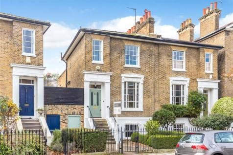 Stockwell Park Crescent, London, SW9. 3 bedroom semi-detached house for sale