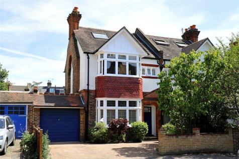 Merton Hall Road, Wimbledon, SW19. 5 bedroom semi-detached house