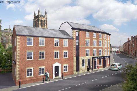 St Mary's Court, 6-10 Millgate, Stockport, Cheshire. 1 bedroom apartment