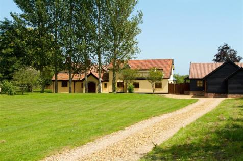 Barhams Lane, Carleton Rode, Norwich. 6 bedroom detached house for sale