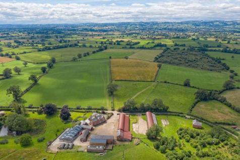 New Marton, Oswestry. Farm land for sale