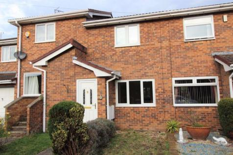 St. Davids Court, Wrexham. 2 bedroom terraced house
