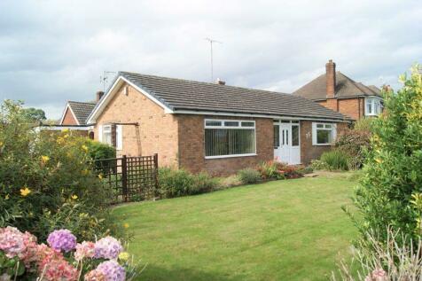 Borras Road, Wrexham. 2 bedroom detached bungalow for sale