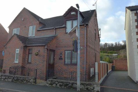 The Brow, High Street, Pentre Broughton, Wrexham. 2 bedroom semi-detached house