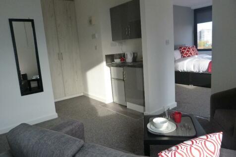 Birch Street, Wolverhampton, West Midlands, WV1. 1 bedroom apartment