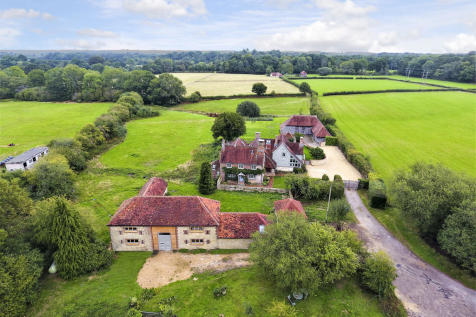 Near Petworth, West Sussex. 6 bedroom detached house for sale