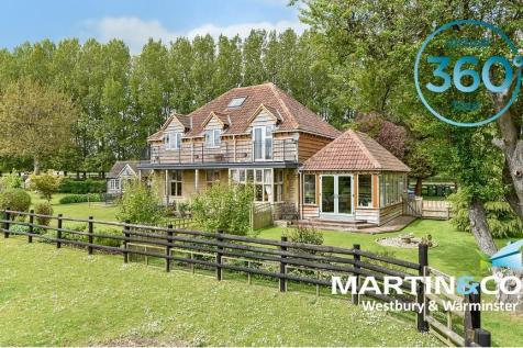 Hisomley, Dilton Marsh. 5 bedroom detached house for sale