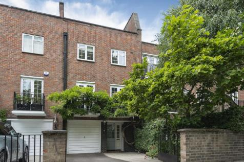 Blomfield Road, Little Venice, London, W9. 4 bedroom town house