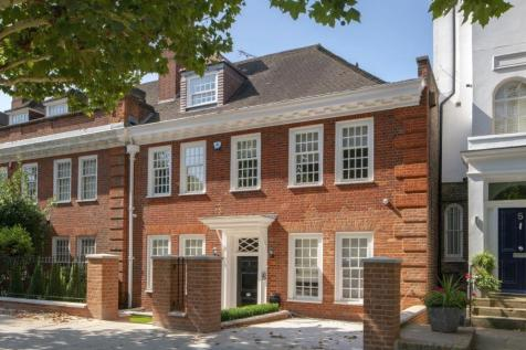 Hamilton Terrace, St John's Wood, London NW8. 5 bedroom semi-detached house