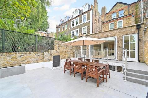 Hall Road, St John's Wood, London, NW8. 5 bedroom semi-detached house