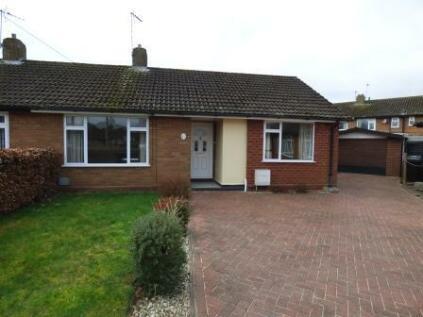 St. Andrews Close, Shifnal, Shropshire, TF11. 2 bedroom semi-detached bungalow