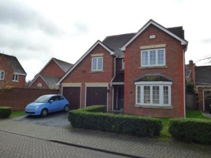 Merlin Coppice, Telford, Shropshire, TF1. 4 bedroom detached house