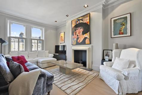 Sinclair Road, Brook Green, London W14. 3 bedroom maisonette for sale