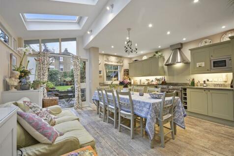 Carthew Villas, Brackenbury, London W6. 5 bedroom house for sale