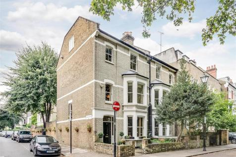 Brook Green, London W6. 6 bedroom end of terrace house for sale