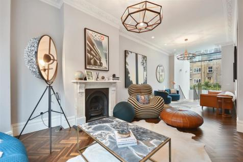 Aynhoe Road, Brook Green, London, W14. 4 bedroom terraced house for sale