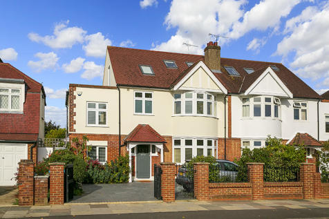 Wellesley Road, Twickenham, Middlesex, TW2. 5 bedroom semi-detached house for sale