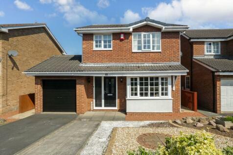 Mitchell Drive, North Seaton, Ashington, Northumberland, NE63 9JT. 3 bedroom detached house for sale
