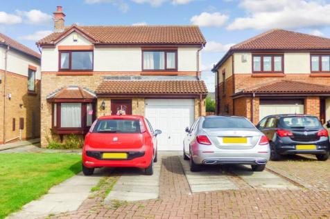 Orpine Court, Ashington, Northumberland, NE63 8JQ. 4 bedroom detached house for sale