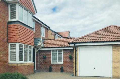 Alnmouth Avenue, Ashington, Northumberland, NE63 8SG. 3 bedroom detached house for sale
