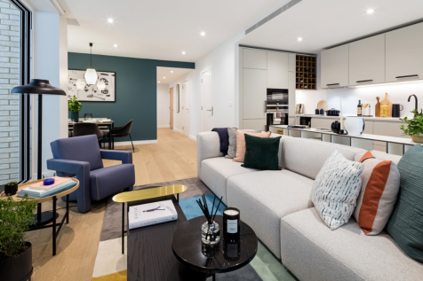 Marketing Suite at Petrone House, 13 Phoenix Place, London, WC1X 0DH. 2 bedroom apartment