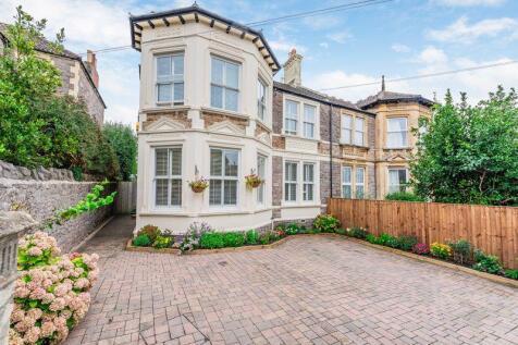 Hill Road, Weston-Super-Mare - ELEGANT PERIOD HOME. 4 bedroom semi-detached house