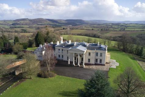 Hilston Park, Newcastle, Monmouth, Gwent, Wales, NP25. Detached house for sale