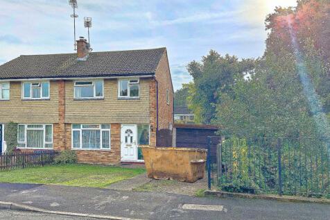Freemantle Road, Bagshot. 3 bedroom semi-detached house