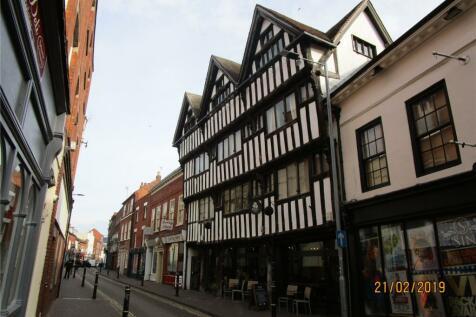 New Street, Worcester, Worcestershire. 2 bedroom flat