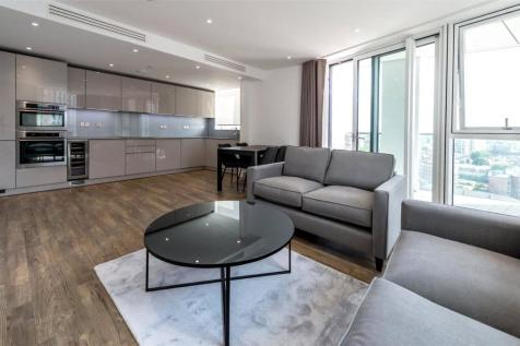 Haydn Tower, 50 Wandsworth Road, London, SW8. 2 bedroom flat