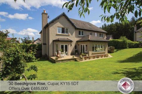 30, Beechgrove Rise, Cupar, Fife, KY15. 5 bedroom detached house for sale