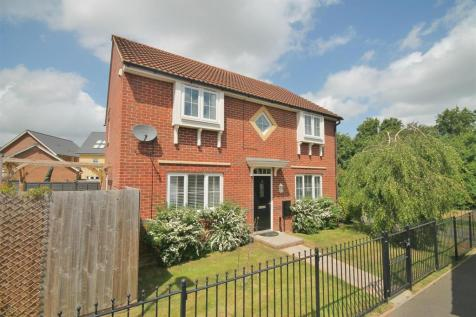 Farnborough Close, Kingsway, Quedgeley, Gloucester. 4 bedroom detached house