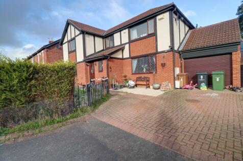 Wansbeck Mews, Ashington. 4 bedroom detached house for sale