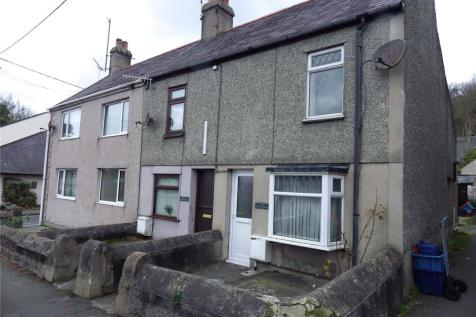 Church Terrace, Llangefni, Anglesey, LL77. 2 bedroom end of terrace house