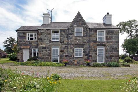 Pontllyfni, Caernarfon, Gwynedd, LL54. 8 bedroom detached house for sale
