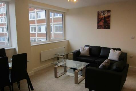Gower Street, Derby, DE1. 2 bedroom flat