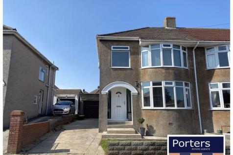 Priory Avenue Bridgend CF31 3LP. 3 bedroom semi-detached house