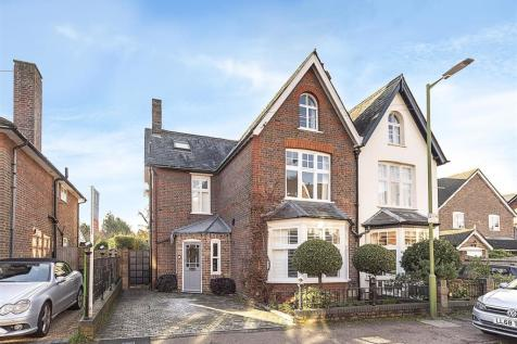Cowper Road, Harpenden. 5 bedroom semi-detached house for sale