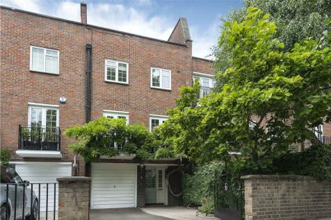 Blomfield Road, Little Venice, London, W9. 4 bedroom terraced house for sale