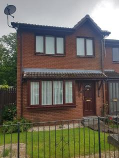 Oxhill Place, Dumbarton, Dunbartonshire, G82. 3 bedroom end of terrace house